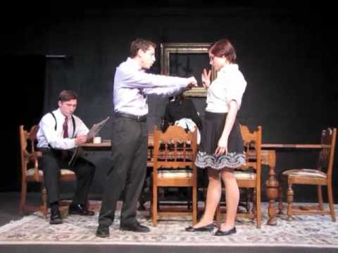 the dining room gwu generic theatre fall 2010 part 1 youtube