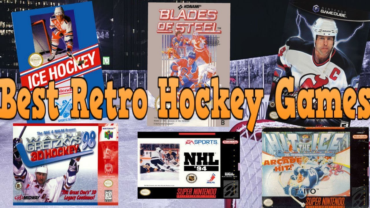 The Best Retro Hockey Video Games