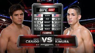 UFC Debut: Henry Cejudo vs Dustin Kimura   Free Fight