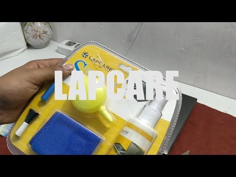 Unboxing Lapcare | Cleaning kit & Laptop Keyboard Cover with Application |