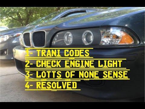 Bmw 528i E39 Check engine light and no codes THE FIX