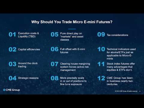 Benefits of Day Trading the Micro E-Minis Futures from Stage 5 Trading & CME Group