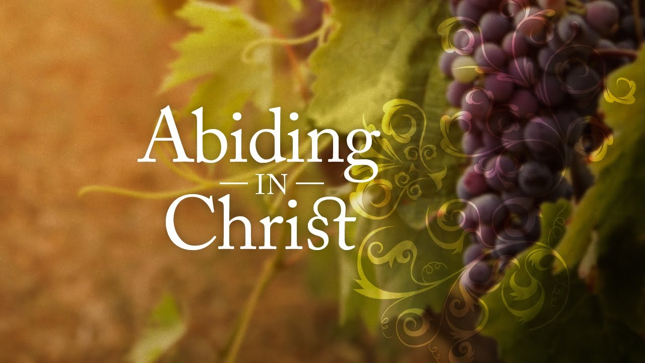 How to Abide in Christ