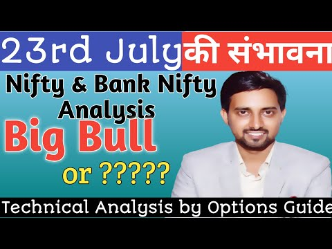 NIFTY BANKNIFTY 23rd JULY 2021 PREDICTIONS | Nifty Tomorrow | Bank Nifty Tomorrow | Nifty Prediction