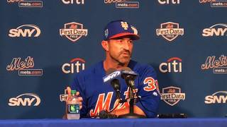 Mets' Mickey Callaway holds court at spring training 2017 Video