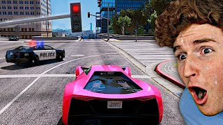 If I BREAK THE LAW In GTA 5, The Video ENDS.. (IMPOSSIBLE)