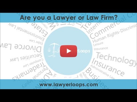 Are you a Lawyer or Law Firm? | Lawyer Referral Service | Lawyer Directory | LawyerLoops