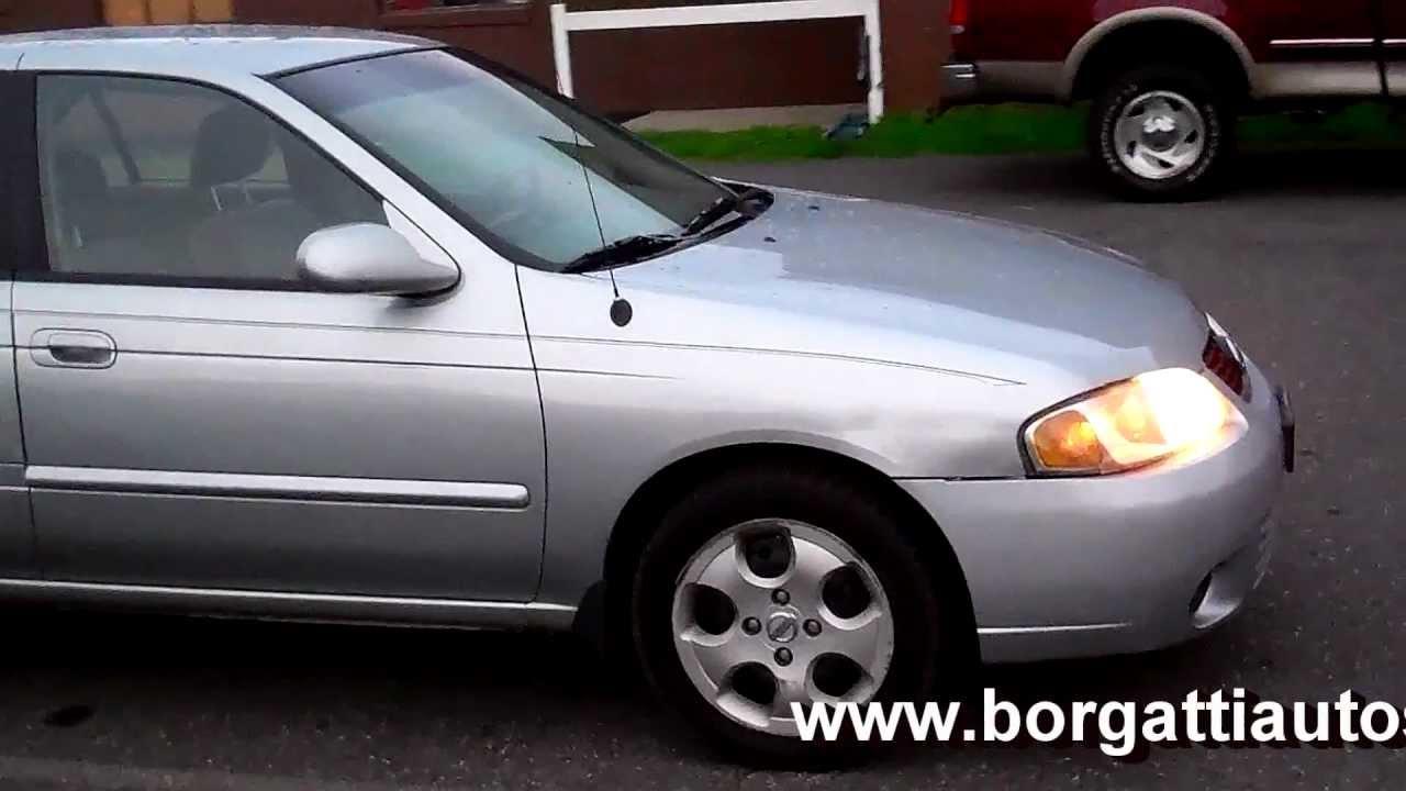 2003 nissan sentra gxe sedan 4dr 1.8l 4cyl at - - youtube