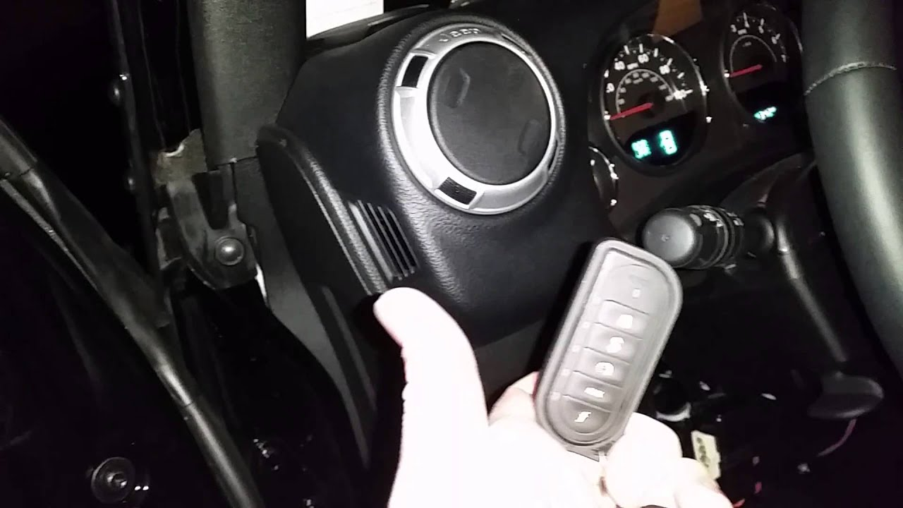 2015 Jeep Wrangler Unlimited Sport Remote Start Install