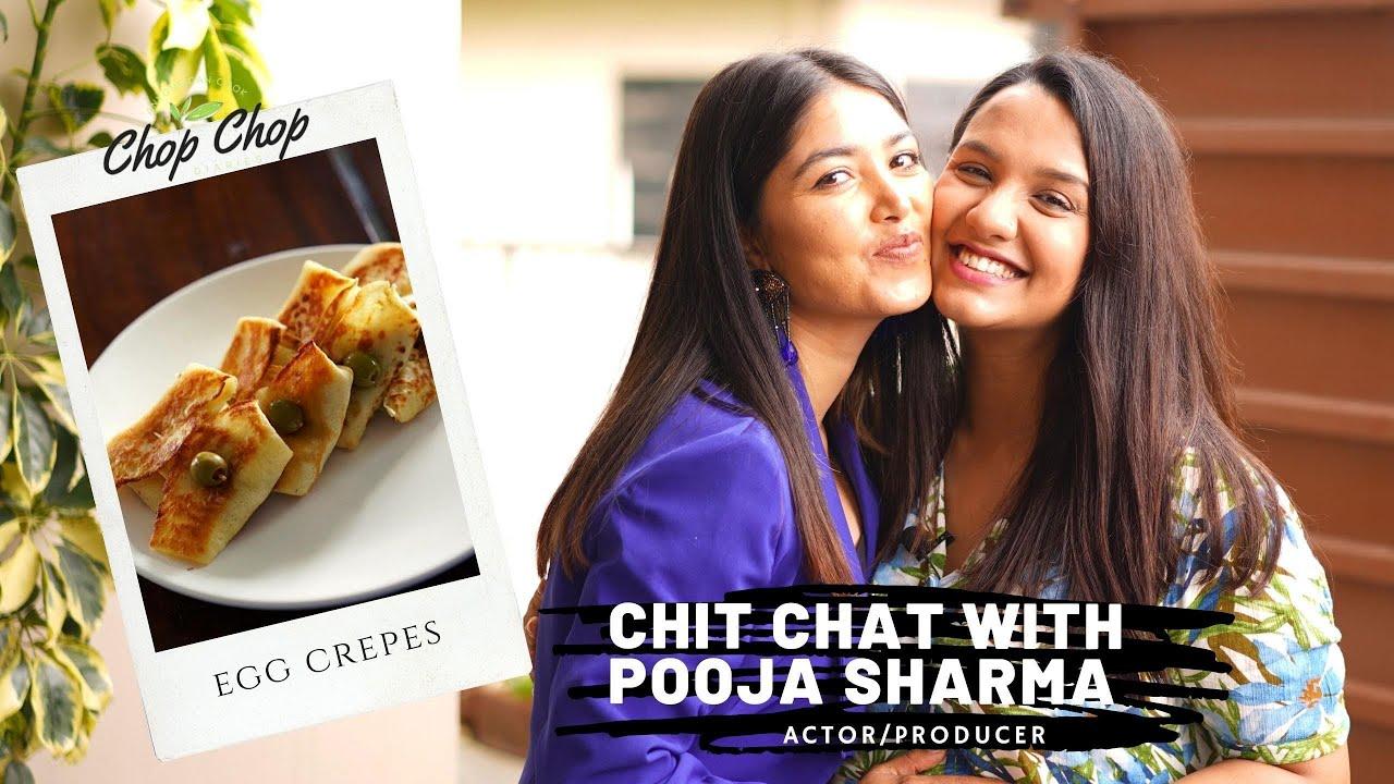Pooja & Aakash NOT DATING? Single? Minisha from viral TikTok video | EGG CREPES | CHOP CHOP DIARIES