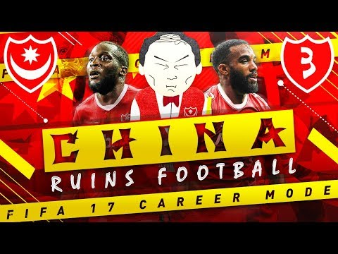 THE PENULTIMATE EPISODE OF CHINA RUINS FIFA 17 CAREER MODE (SQUAD REPORTS)
