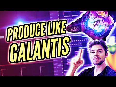 HOW TO MAKE MUSIC LIKE GALANTIS - NO MONEY [FL STUDIO]