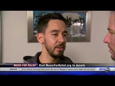 Linkin Park's Mike Shinoda talks Music For Relief