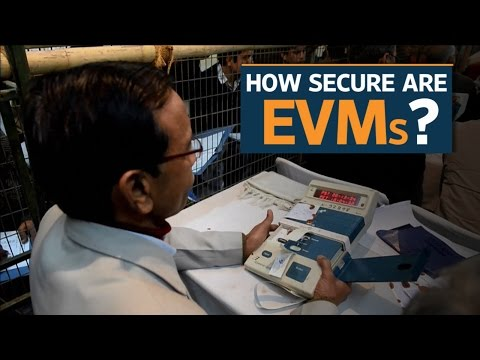How secure are Electronic Voting Machines in India?