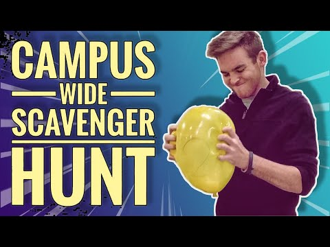Campus-wide Scavenger Hunt
