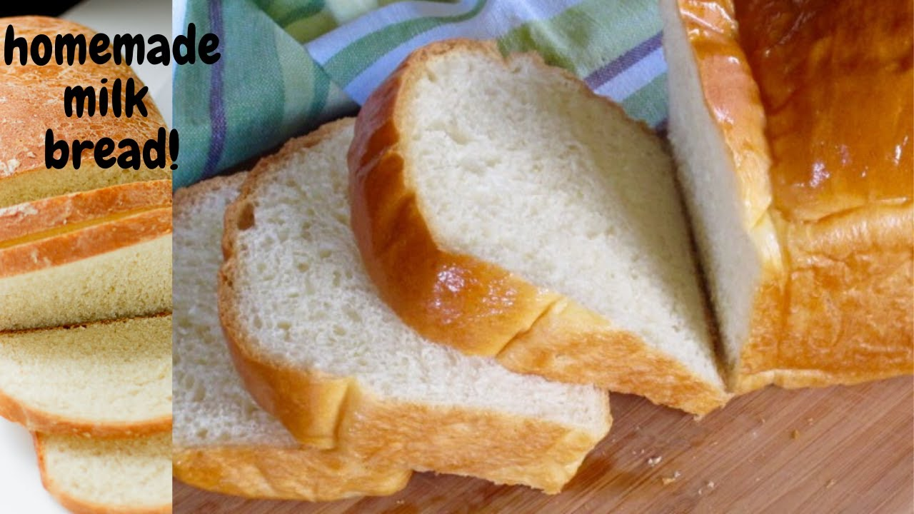 How To Make a Super Soft Milk Loaf/Homemade Bread/Easy ...