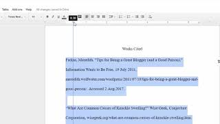 OLD WAY How t๐ Add Hanging Indents in Google Docs (New Way linked in video description)