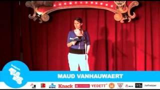 Maud Vanhauwaert - Frappant TXT 2010 - Finale Permeke (Antwerpen)