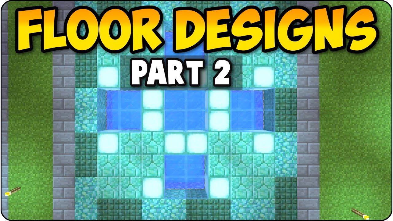 Minecraft ps3 xbox 360 unique floor showcase pt 2 house for Minecraft floor designs