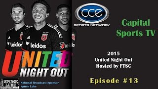 Capital Sports TV - Episode 13 - United Night Out 2015