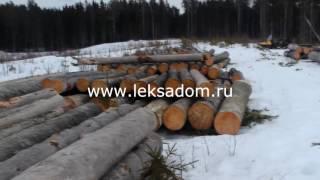 Купить готовый сруб дома,бани из карельского сухарника(Качественные срубы из сухарника только в Северной Карелии., 2016-06-14T05:54:56.000Z)