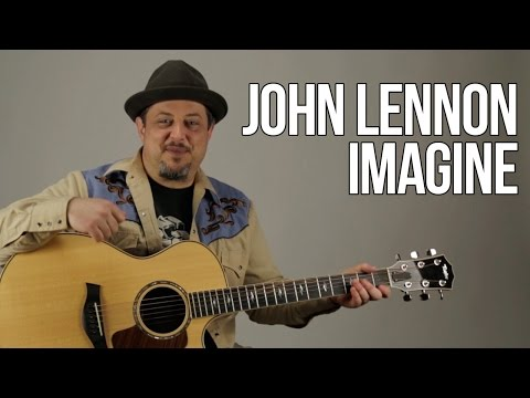 "How to Play ""Imagine"" by John Lennon on Guitar - Acoustic Guitar Lesson"