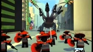 Лего Ниндзяго 2 сезон 21 эпизод(3 сезон) - День когда Ниндзяго замерло