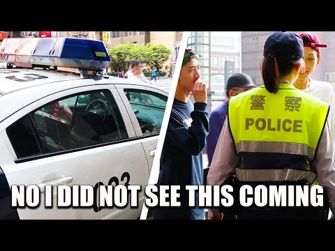 How I Ended Up in a Police Car in Taiwan with Japanese Tourists 沒事別在台北車站閒晃