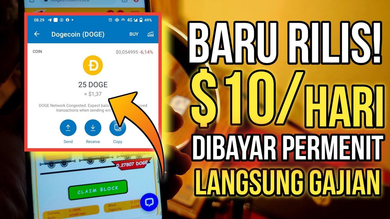 BARU RILIS ! $10/ HARI CUMA DAFTAR TERUS GAJIAN   aplikasi ...