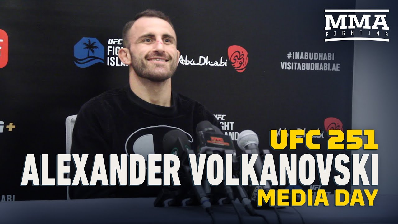 UFC 251 live blog: Alexander Volkanovski vs. Max Holloway