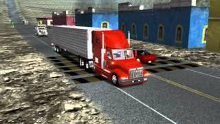 18 wheels of steel haulin international 9400
