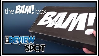 Subscription Spot | The Bam! Box August 2017 Subscription UNBOXING!
