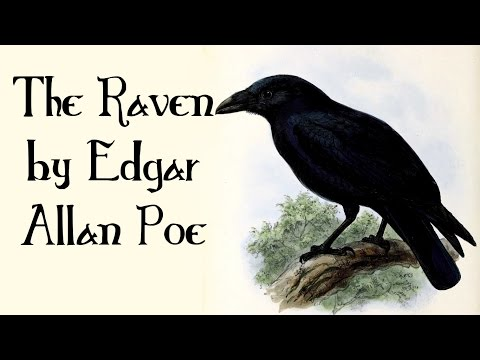 The Raven by Edgar Allan Poe - Quoth the Raven, Nevermore - Poetry for Kids, FreeSchool