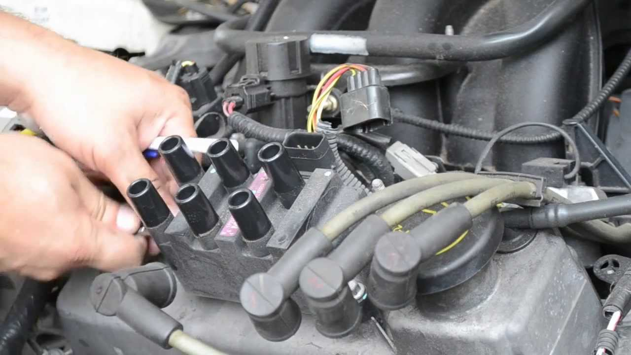 1999 Ford Windstar Wiring Diagram Sony Xplod 52wx4 How To Install An Ignition Coil - So Super Easy! Youtube