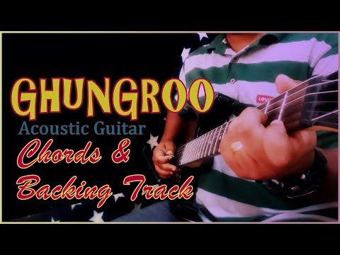 Ghungroo I Guitar Chords I CLEAN Acoustic Backing Track I War Movie I KARAOKE I Arijit Singh I