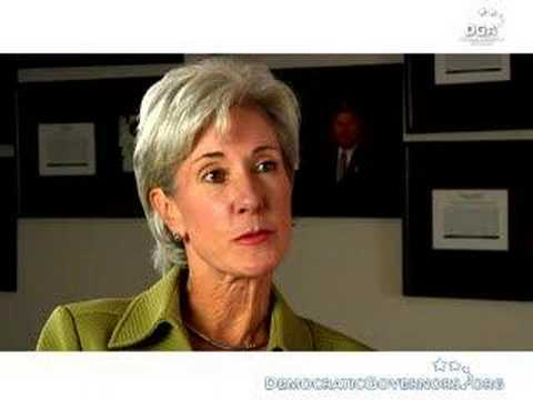 Governor Kathleen Sebelius on Insuring Children