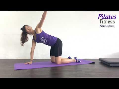 Pilates Fitness Obliques Rotation Exercises Jan 2018 Part 1