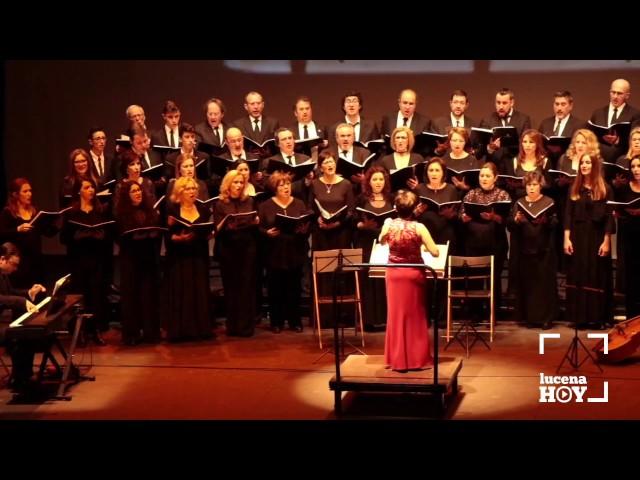 """VÍDEO: Concierto """"Cantos por América"""", de los Coros del Conservatorio de Lucena y San Sebastián, de Antequera"""