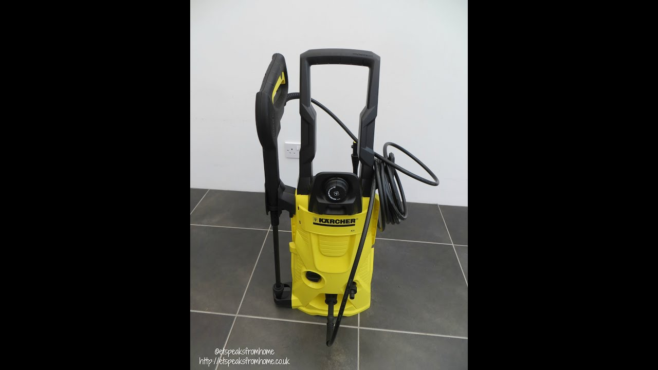 karcher k4 home pressure washer review t350 youtube. Black Bedroom Furniture Sets. Home Design Ideas