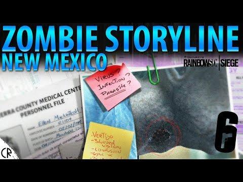 Zombie Storyline New Mexico Infection - Tom Clancy