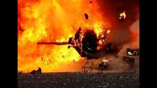 Курды подбили еще один турецкий танк в Сирии возле Джераблуса