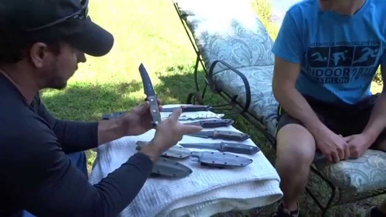 Joe Teti Griffin Tactical Knives David White Youtube