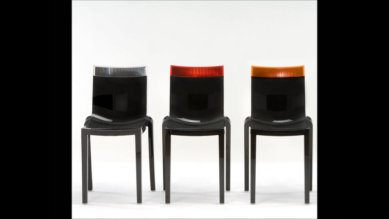 Kartell Hi Cut Chairs - Ice Interiors - YouTube