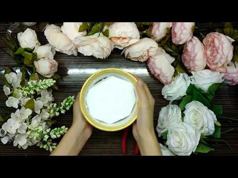 Мастерская Альфии 🌺 Нежная цветочная композиция из тканевых пионов и роз