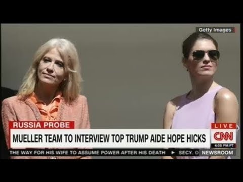 RACHEL MADDOW 12/08/17 MUELLER TEAM TO INTERVİEW TOP TRUMP AIDE HOPE HICKS