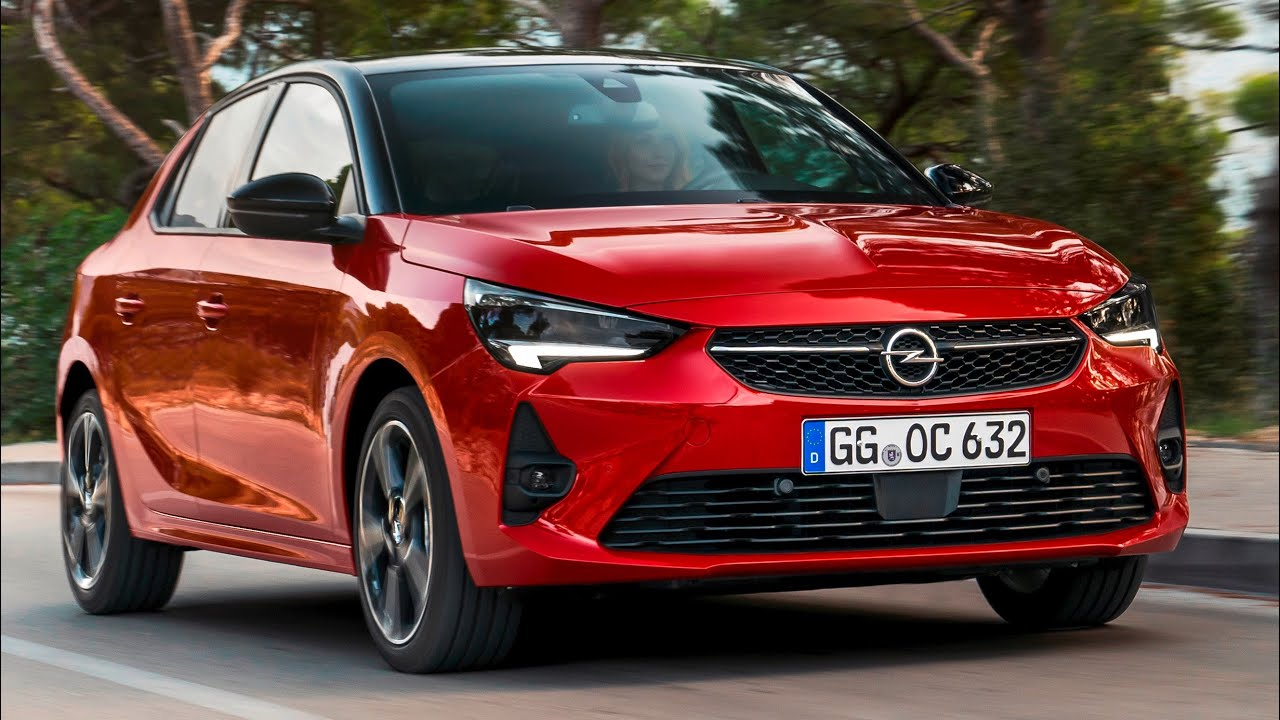 2020 Opel Corsa GS Line dynamic model - YouTube