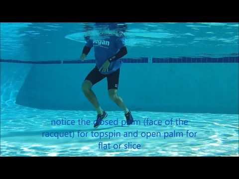 *AquaTennis*.....Tennis workout... !under water!