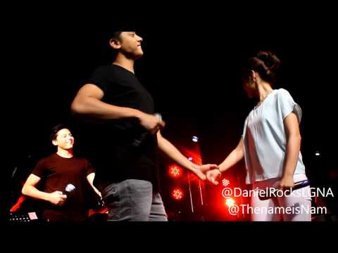 KathNiel sings With A Smile & Grow Old With You