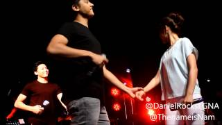 Repeat youtube video KathNiel sings With A Smile & Grow Old With You