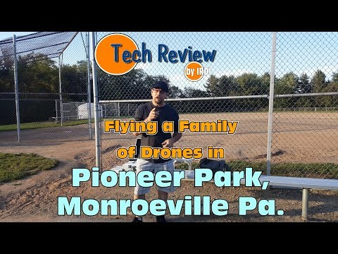 Flying at Pioneer Park in Monroeville PA.
